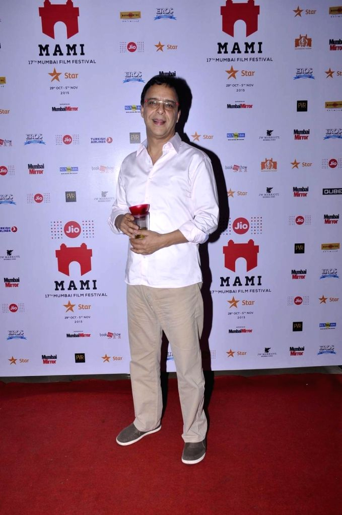 Filmmaker Vidhu Vinod Chopra at the Jio MAMI 17th Mumbai Film Festival in Mumbai, on Nov 1, 2015. - Vidhu Vinod Chopra