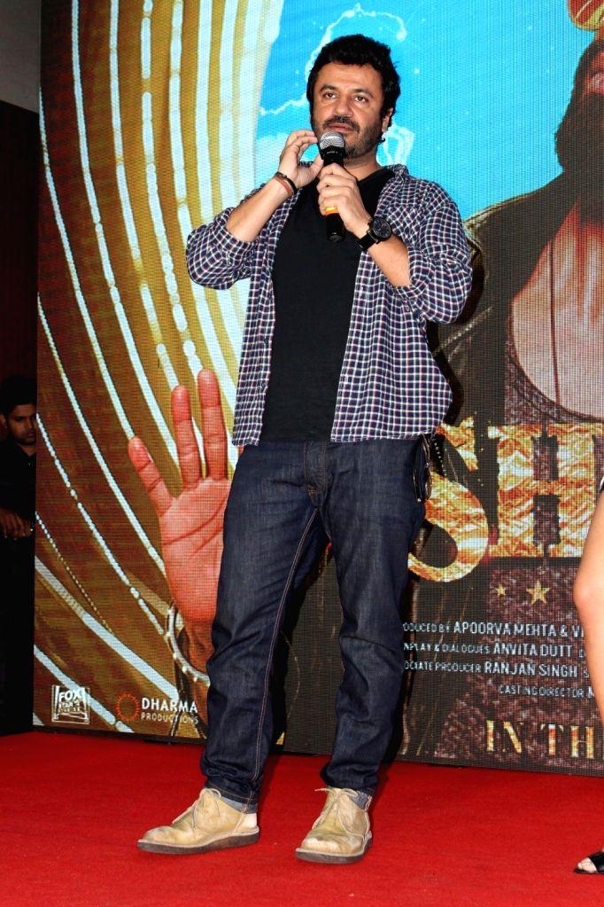 Filmmaker Vikas Bahl during the launch of song Raitaa Phail Gaya from the film Shaandaar in Mumbai on Oct 13, 2015. - Vikas Bahl