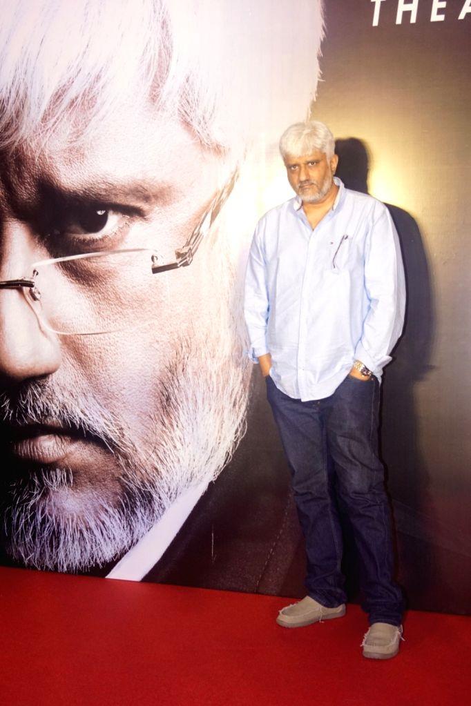 Filmmaker Vikram Bhatt during the launch of his OTT platform VB Theatre on the Web; in Mumbai on Feb 14, 2018. - Vikram Bhatt