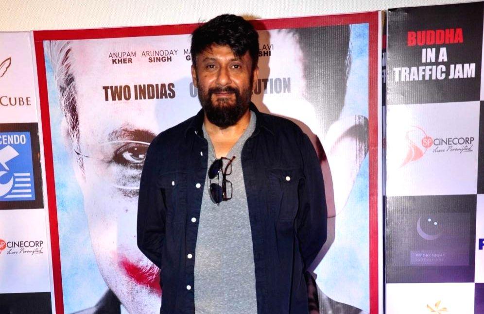 Filmmaker Vivek Agnihotri. (File Photo: IANS) - Vivek Agnihotri