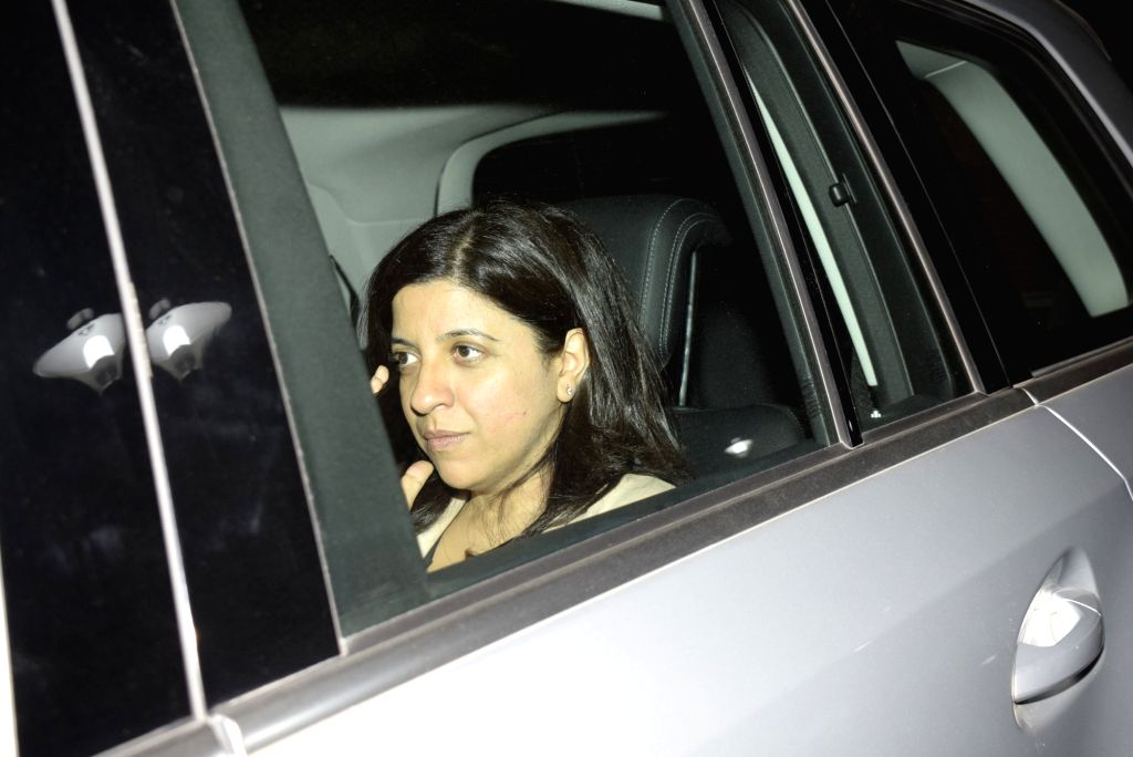 "Filmmaker Zoya Akhtar at the screening of upcoming film ""Gully Boy"" at a Mumbai studio on Feb 11, 2019. - Zoya Akhtar"
