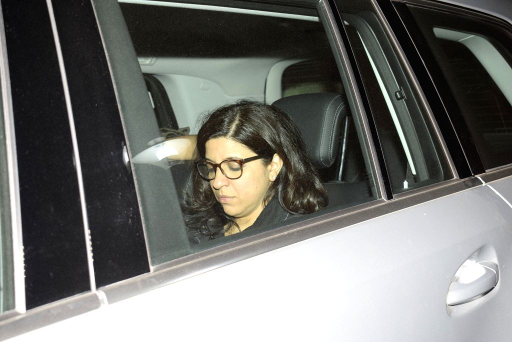 "Filmmaker Zoya Akhtar at the screening of film ""Gully Boy"" in Mumbai, on Feb 15, 2019. - Zoya Akhtar"