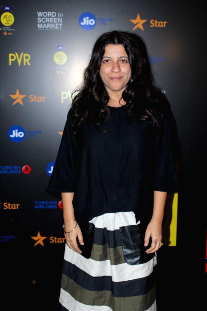 Filmmaker Zoya Akhtar seen at Jio MAMI 21st Mumbai Film Festival in Mumbai on Sep 23, 2019. - Zoya Akhtar