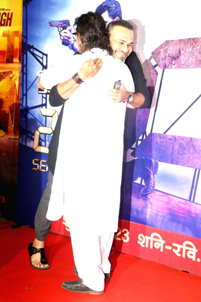 Filmmakers Abhinay Deo and Rakesh Omprakash Mehra during the screening of second season of television series 24, in Mumbai, on July 22, 2016. - Abhinay Deo and Rakesh Omprakash Mehra