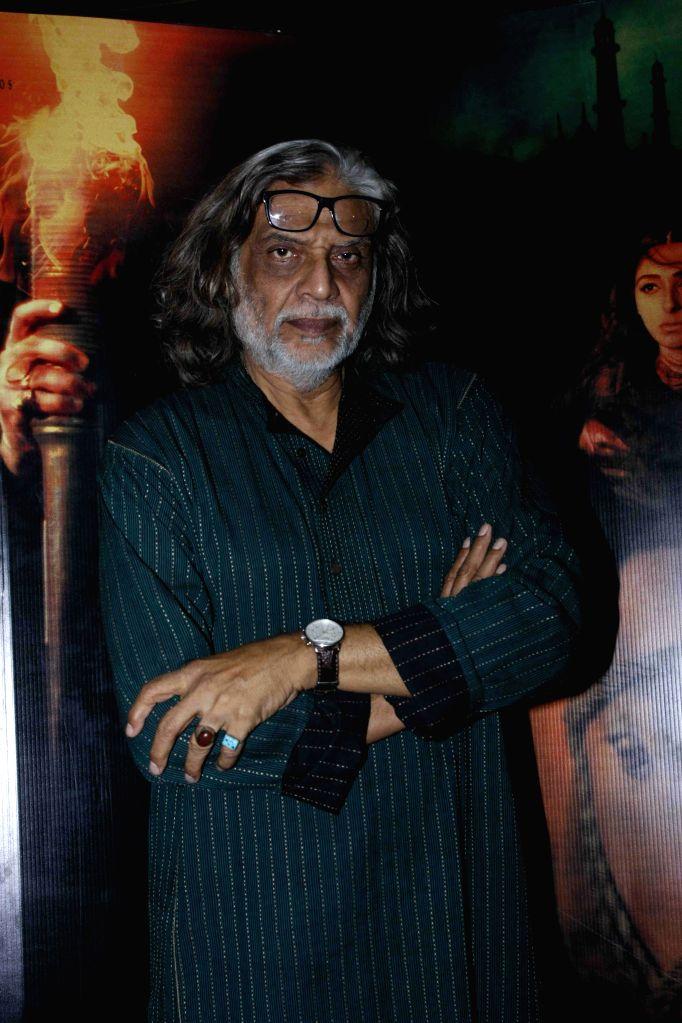 Filmmakers Muzaffar Ali during the screening of film Jaanisaar in Mumbai, on August 6, 2015. - Muzaffar Ali
