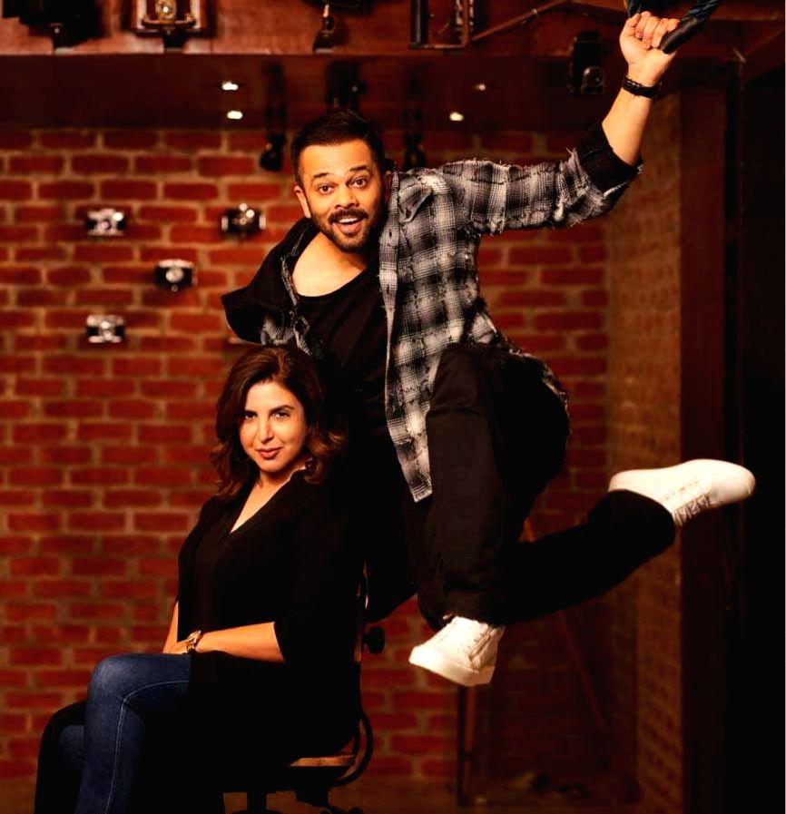 Filmmakers Rohit Shetty and Farah Khan - Rohit Shetty and Farah Khan