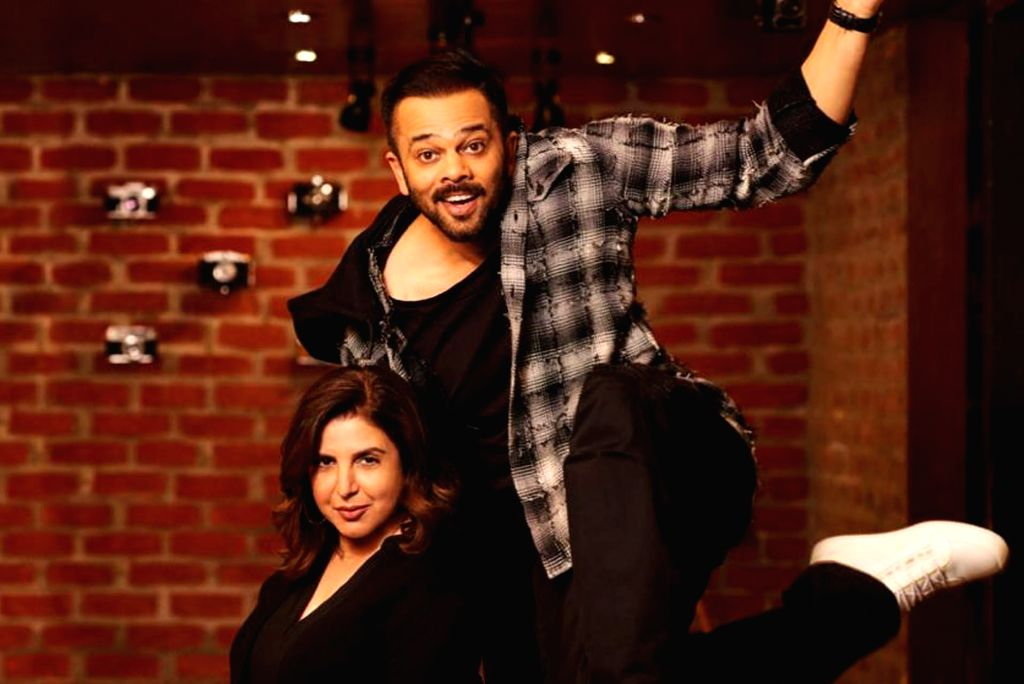 Filmmakers Rohit Shetty and Farah Khan. - Rohit Shetty and Farah Khan