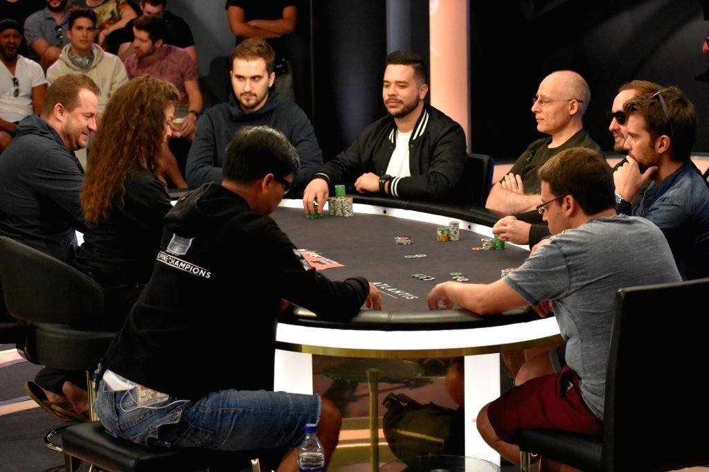 Final table on day 5 started with 8 players.