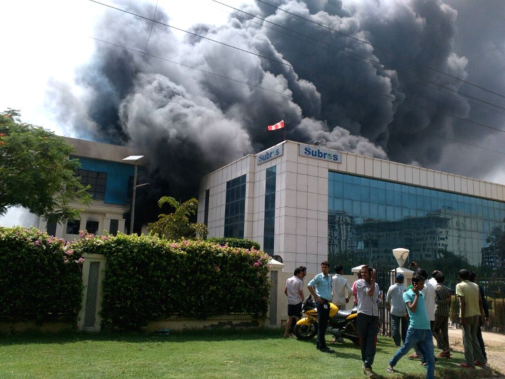 Fire at auto air conditioners factory in Manesar