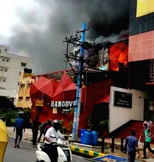 Fire breaks out at famous Bengaluru pub.