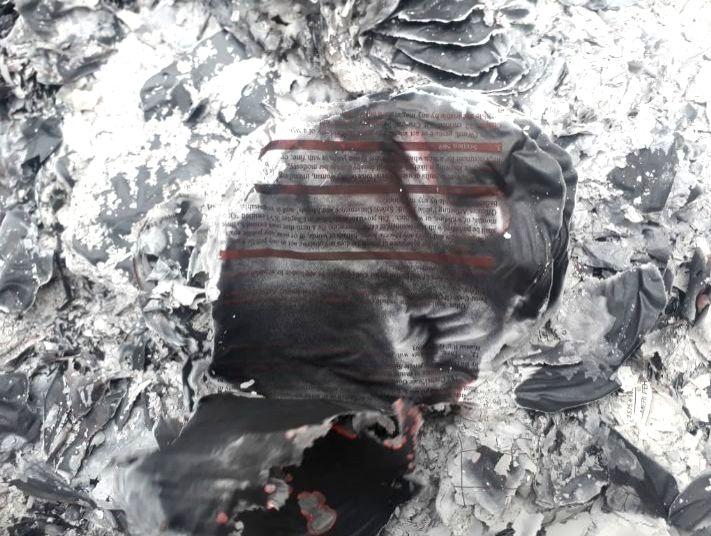 Fire breaks out at SSP Gautam Buddh Nagar's office, files destroyed.