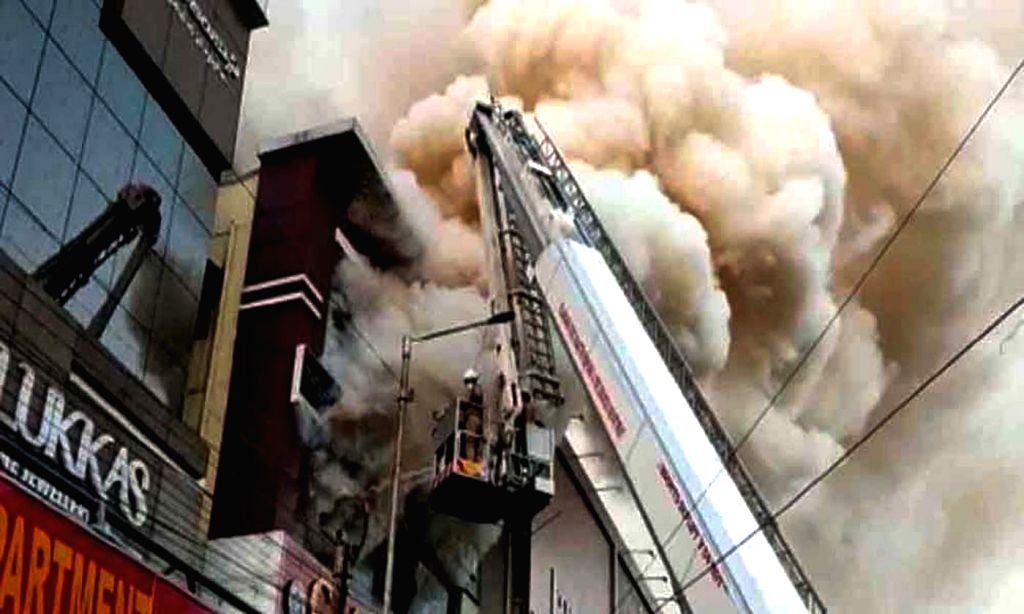 Fire engulfed a hardware shop in Kukatpally Housing Board area. Police said that the reason for the fire accident may be a short circuit or a Diwali lamp. No casualties have been reported ...