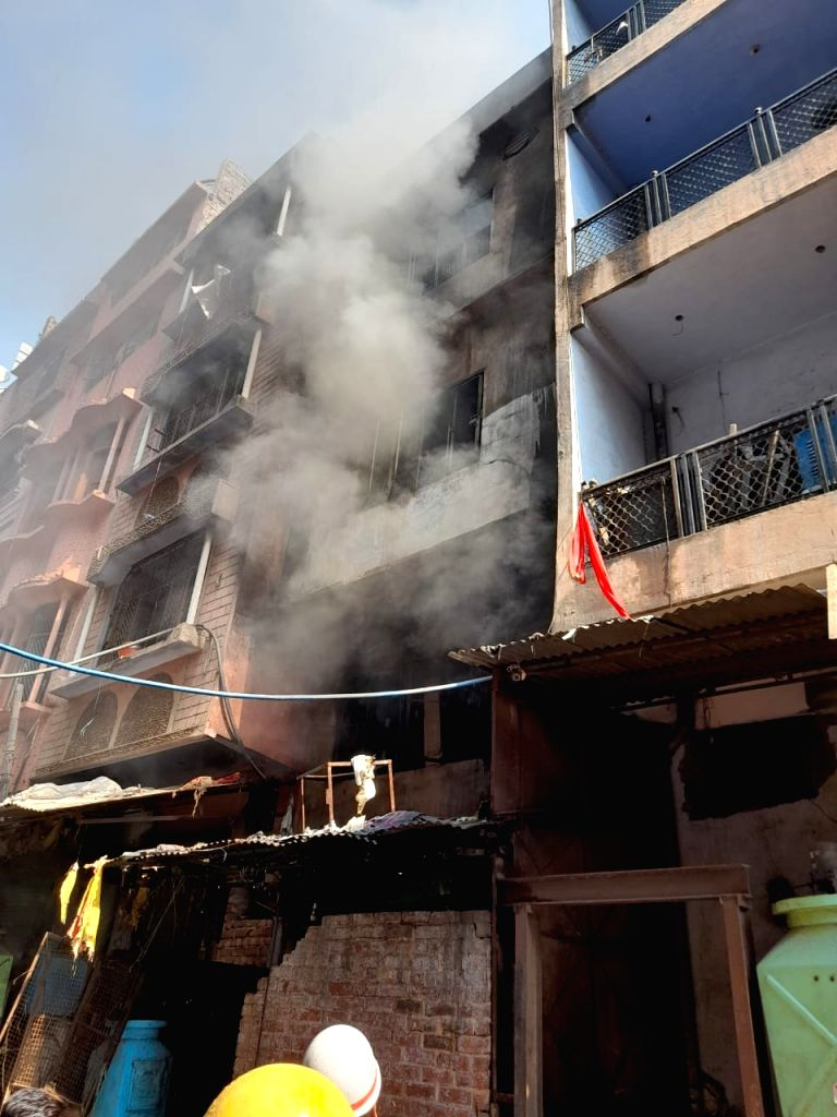 Fire in Delhi warehouse, no casualties.