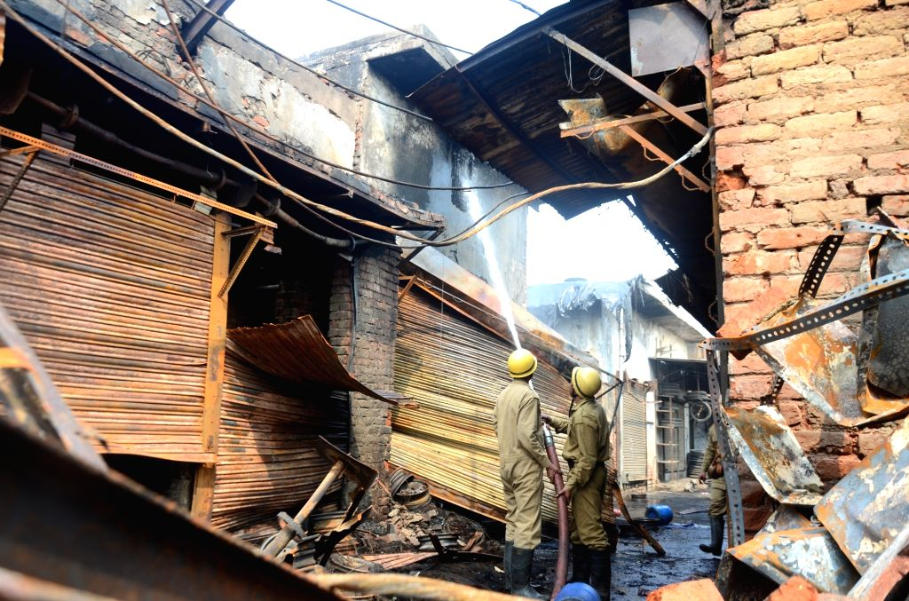 Fire in furniture shop at Shaheen Bagh, no casualties
