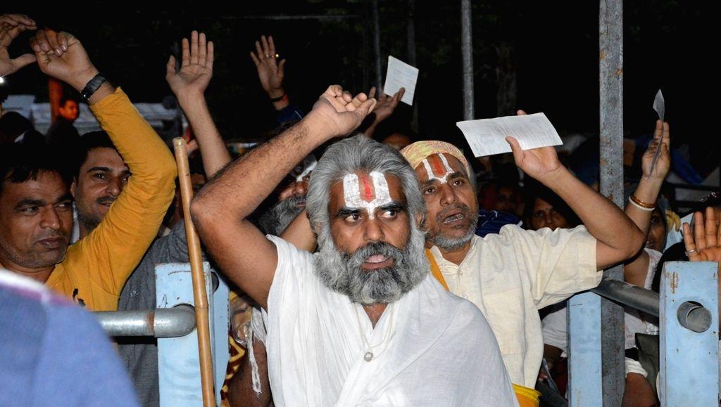 First batch of pilgrims embark on Amarnath Yatra from Pahalgam base-camp on July 2, 2016.