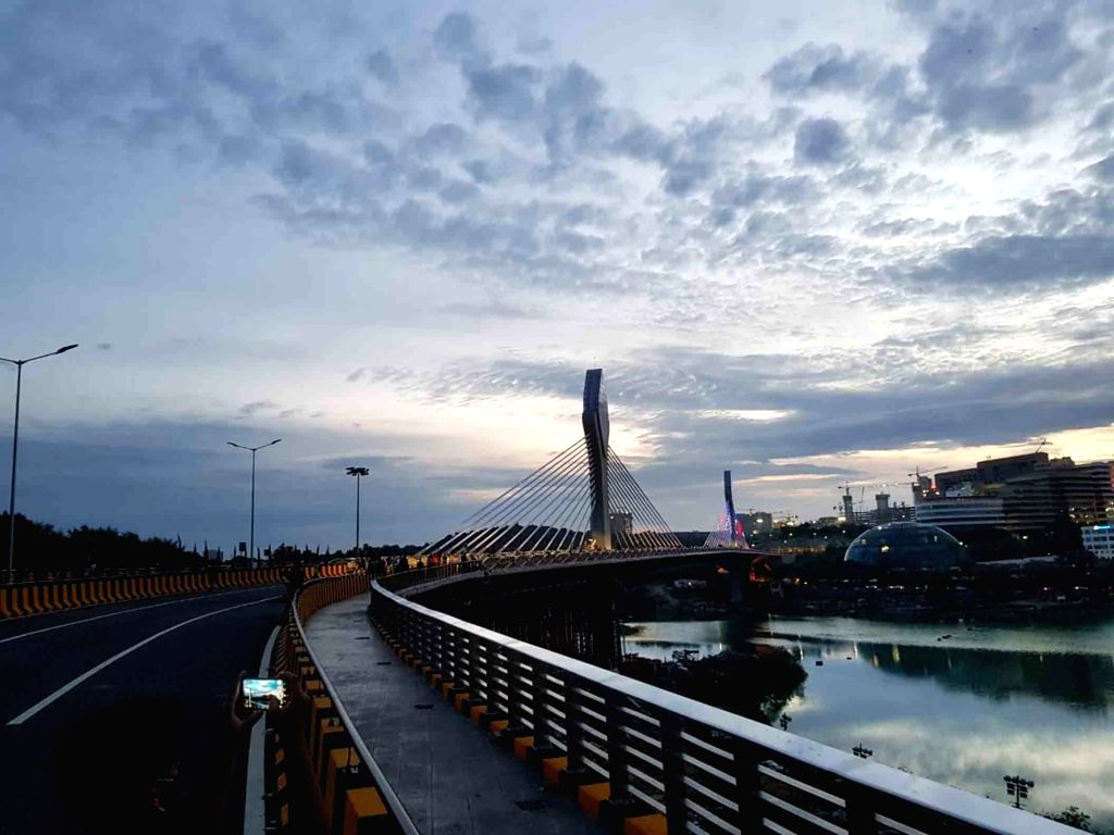First-ever cable-stayed bridge at Durgam Cheruvu, Hyderabad, which is as much publicised for its aesthetic value as for its commute facility, might be opened for traffic by September end, ...