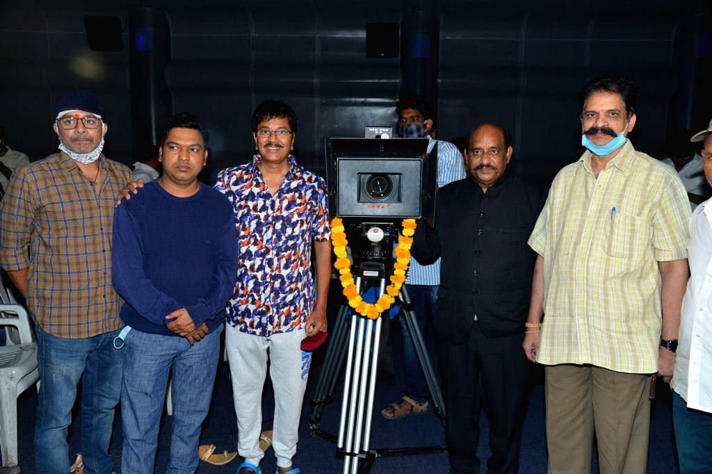 First Time Movie Opening held at Prasad Labs, Banjara HIlls, Hyderabad On Tuesday 13th April,2021.