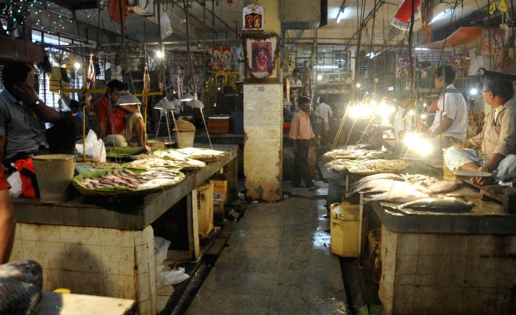 Fish market. (File Photo: IANS)