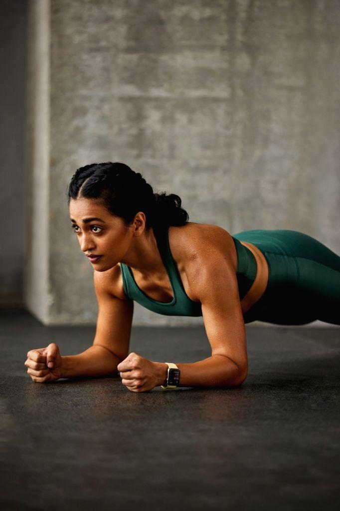 Fitness not restricted to dropping pounds on occasions: Shwetambari Shetty.(photo:IANSLIFE) - Shwetambari Shetty