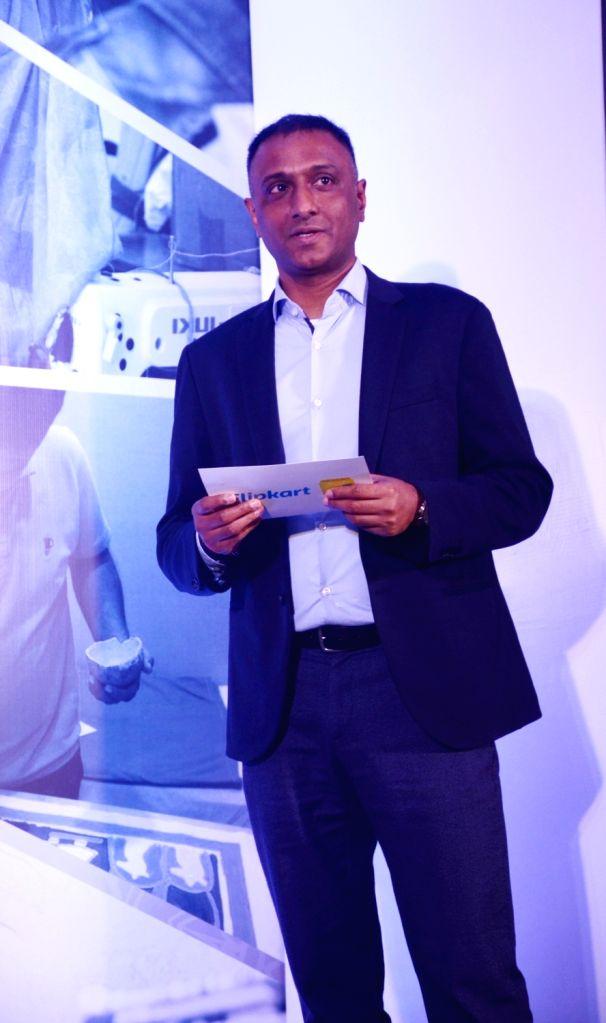 Flipkart CEO Kalyan Krishnamurthy at the launch of Flipkart 'Samarth' in New Delhi on July 31, 2019.