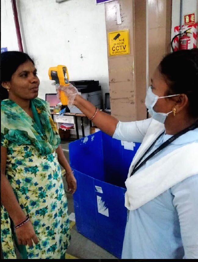 Flipkart said it has made temperature screening using infra-red thermometers mandatory for all employees, vendors and visitors. Persons with suspected flu symptoms are advised to return home.