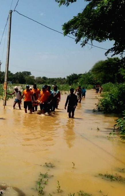Flood in Odisha.