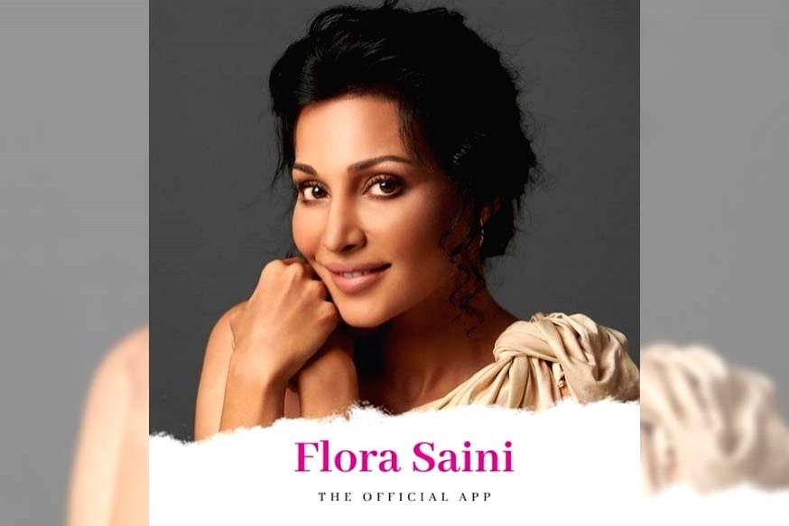 Flora Saini launches her app.