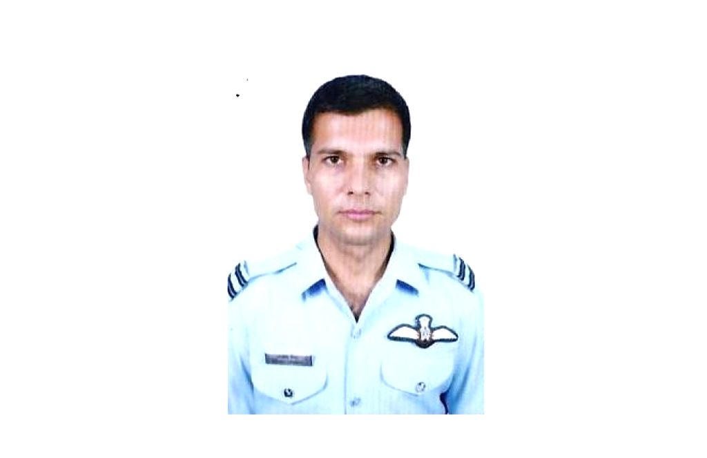 Flt Lt A Tanwar one of the 13 persons who died in An-32 aircraft crash in Arunachal Pradesh on June 3.
