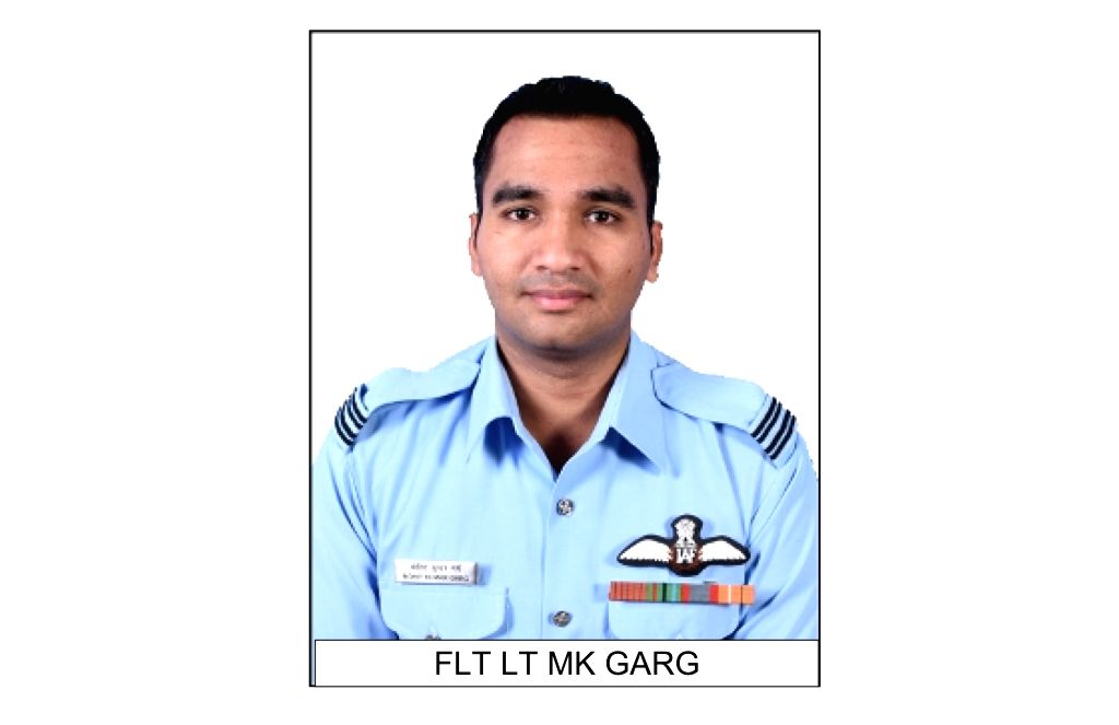 Flt Lt MK Garg one of the 13 persons who died in An-32 aircraft crash in Arunachal Pradesh on June 3.