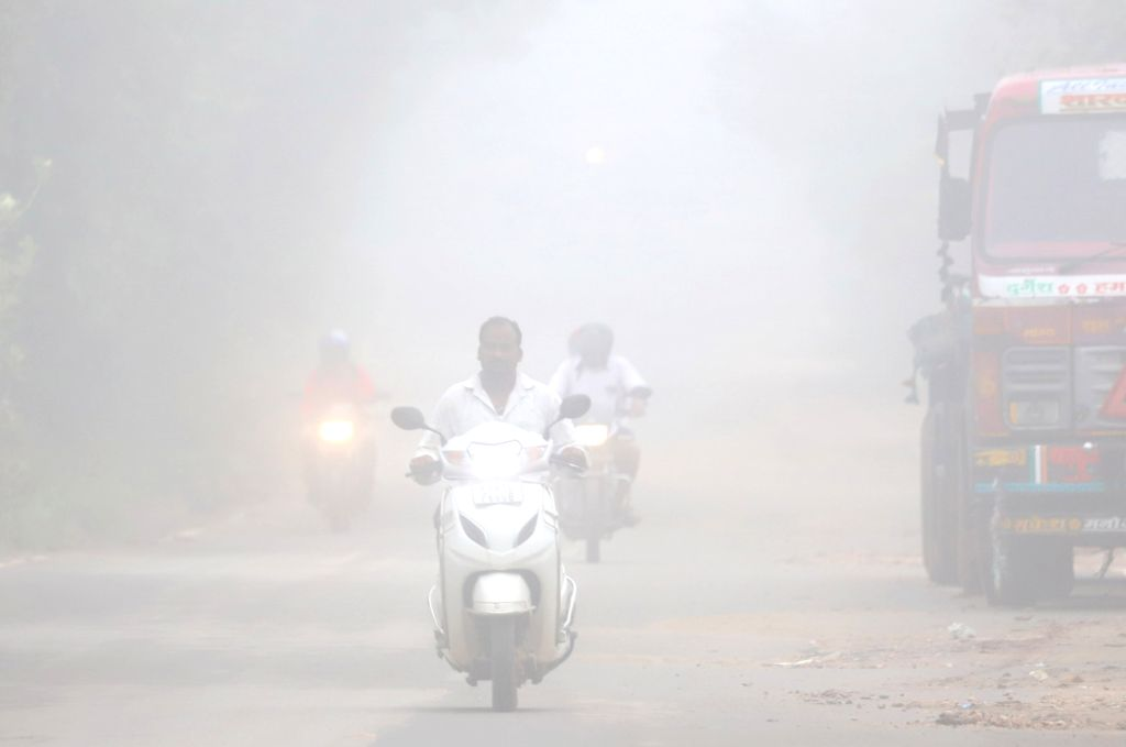 Fog engulfs Bengaluru at the onset of winters, on Oct 22, 2020.