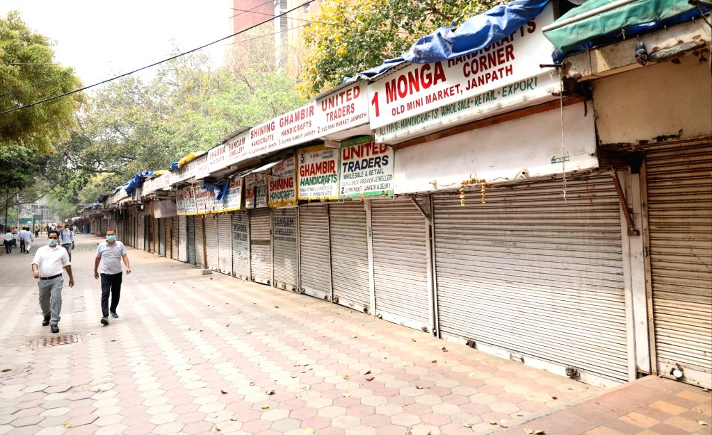 Following Prime Minister Narendra Modi's call for a Janata Curfew on Sunday, about 7 crore traders throughout the country and 40 crore of their employees are staying at home, Confederation of All India Traders (CAIT) said. (Photo: IANS) - Narendra Modi