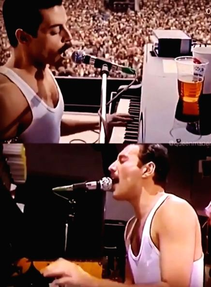"""Foo Fighters frontman Dave Grohl has heaped praise on Queen's late lead vocalist Freddie Mercury for winning over the crowd at Live Aid with a simple """"trick"""". Rock band Queen's performance at Live Aid in 1985 has often been hailed as one of the great"""