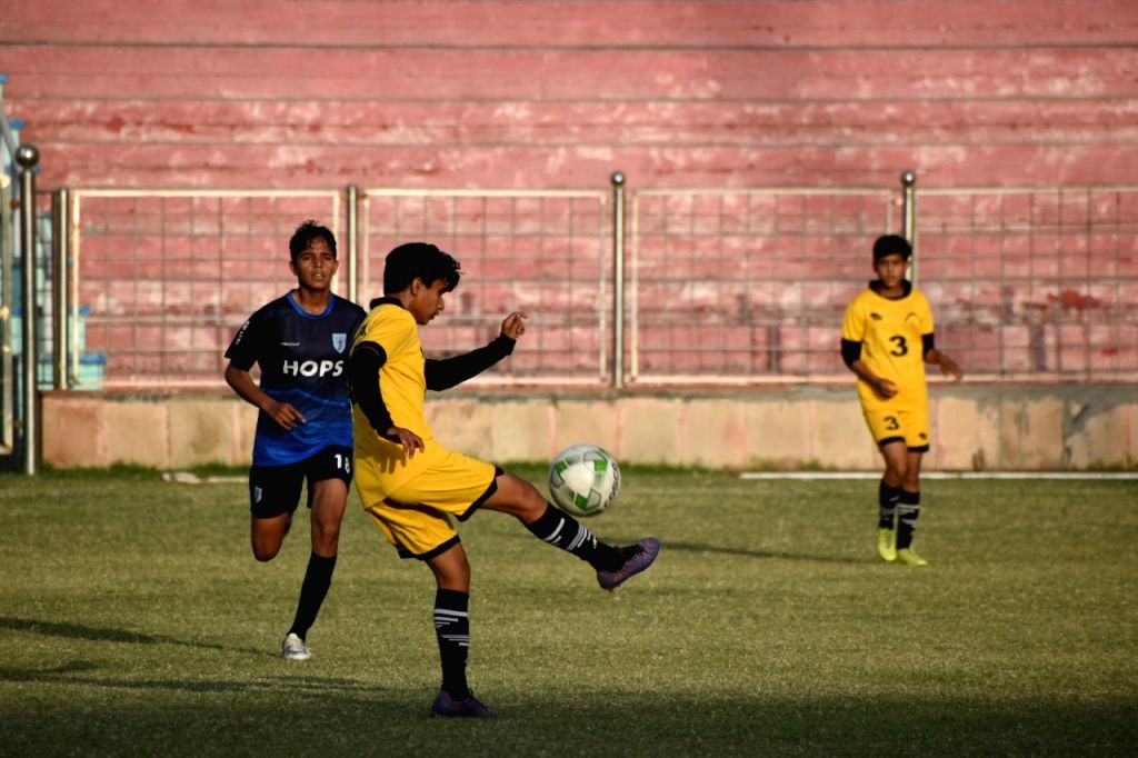 Football picture to go with Delhi football league