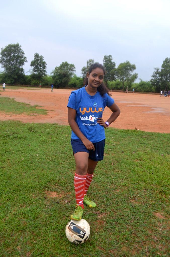 Footballer Monika. (File Photo: IANS)