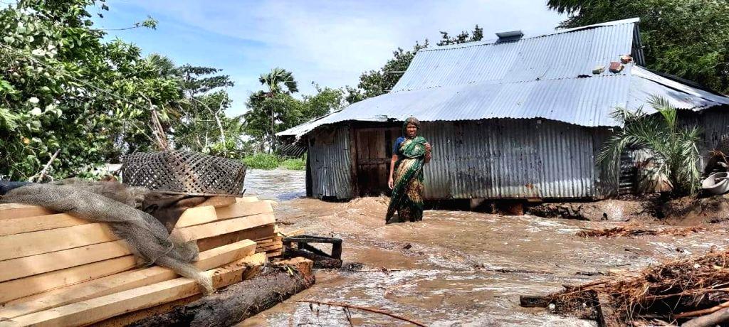 For 13 years  No volunteers-officials beside 3 ml YAAS affected in Chormontaj of B'desh.