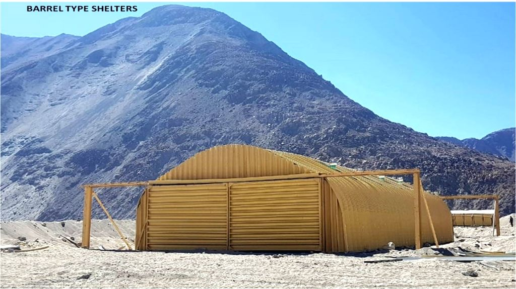 For Graphics: India's readiness to deal with harsh winter in Eastern Ladakh