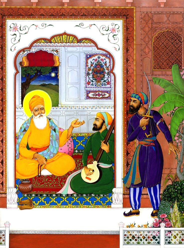 For her, Art exhibition to pay tribute to Guru Nanak