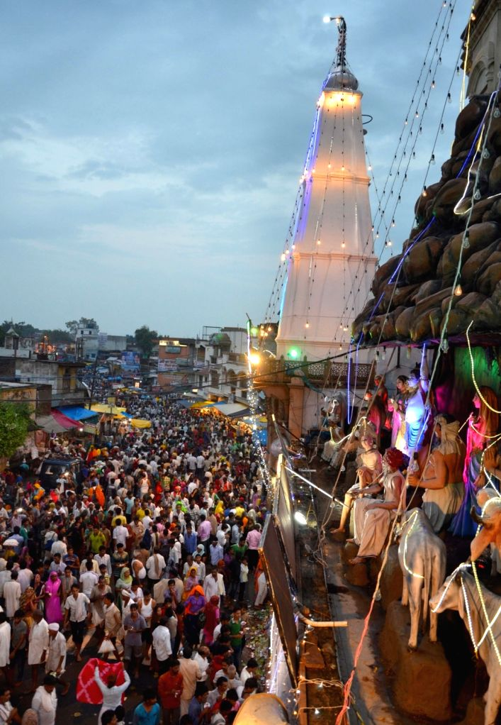 For the first time in over 400 years, Mathura's famous Guru Purnima fair, also known as Mudia Mela, has been cancelled due to the coronavirus pandemic. (Photo: IANS)