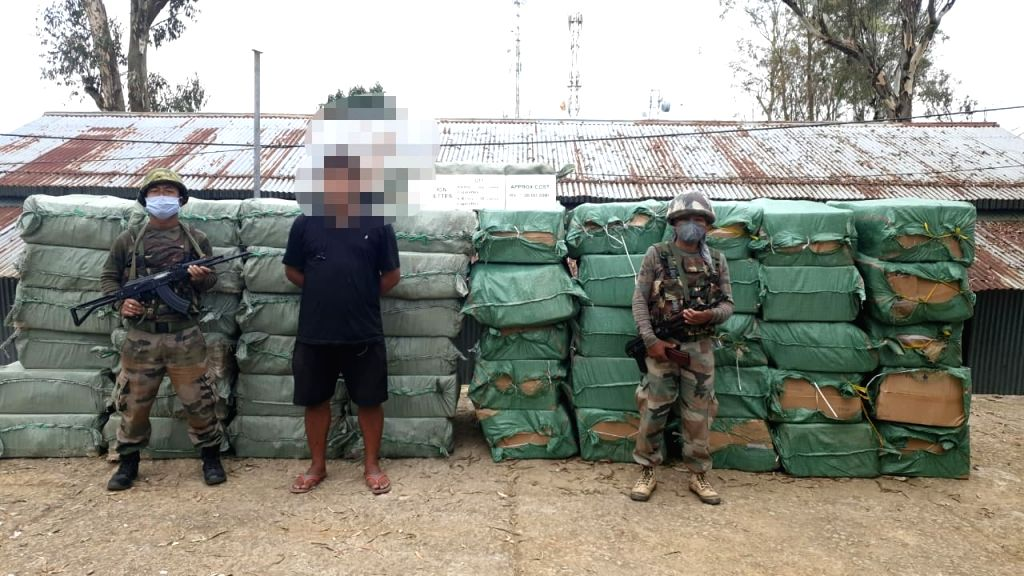 Foreign cigarettes worth Rs 1.30 Cr seized in Mizoram, 2nd seizure in a week