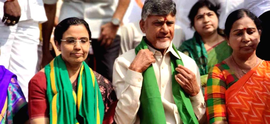 Former Andhra Pradesh Chief Minister and Telugu Desam Party (TDP) President N. Chandrababu Naidu has hailed the steps taken by the Modi government to tackle COVID-19 threat. (File Photo: IANS) - N. Chandrababu Naidu