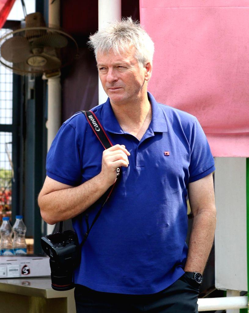 Former Australian captain Steve Waugh during a Ranji Trophy match between Delhi and Bengal at the Edeen Gardens in Kolkata on Jan 27, 2020. - Steve Waugh