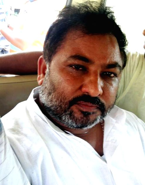 Former BJP leader Dayashankar Singh, whose abusive remarks against BSP chief Mayawati caused an outcry, arrested from Chini Mill area in Buxar of Bihar on July 29, 2016. - Dayashankar Singh
