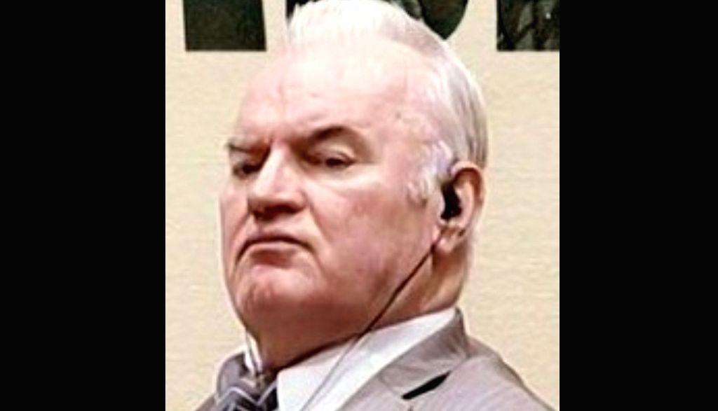 former Bosnian Serb general Ratko Mladic.(photo:instagram)