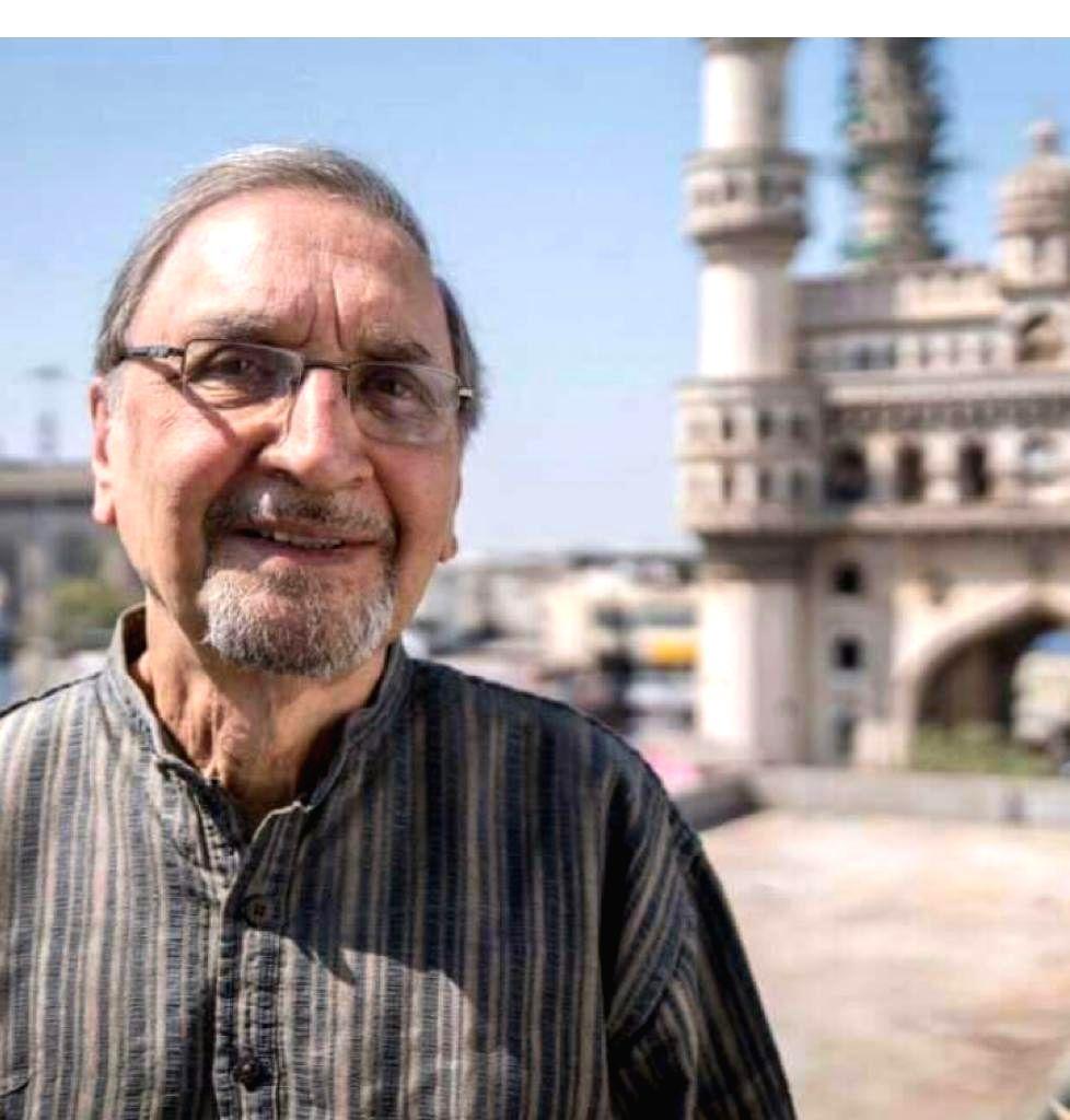 Former bureaucrat, historian Narendra Luther passes away.