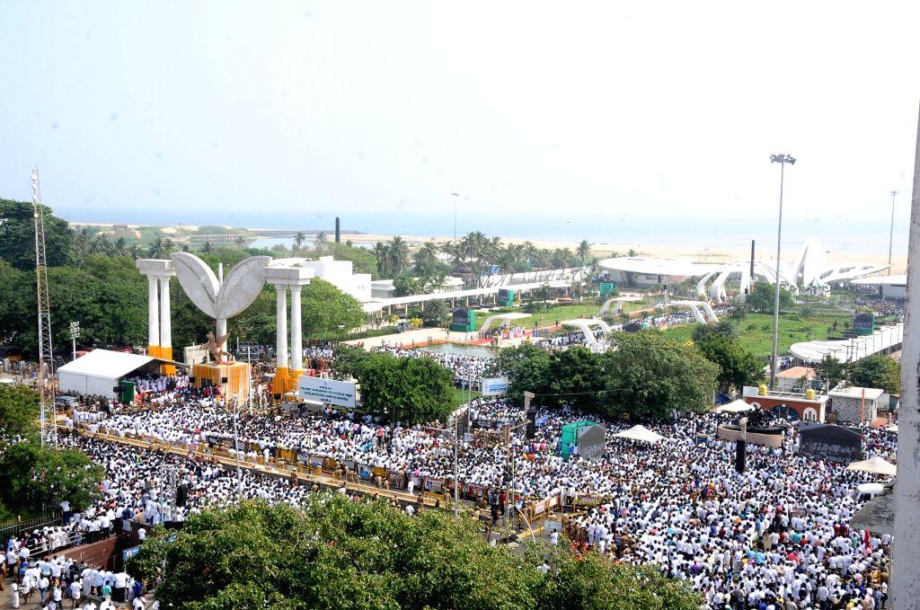 Former CM Jayaram Jayalalithaa opening ceremony in chennai, on 27 Jan 2021
