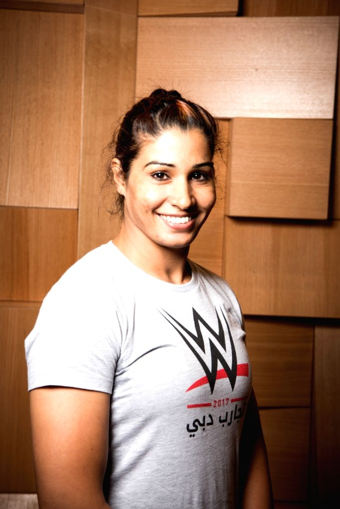 Former competitive powerlifter and South Asian Games gold medal winner Kavita Devi, who has been selected to compete in the Mae Young Classic, which is the first ever WWE tournament for women. (File ...