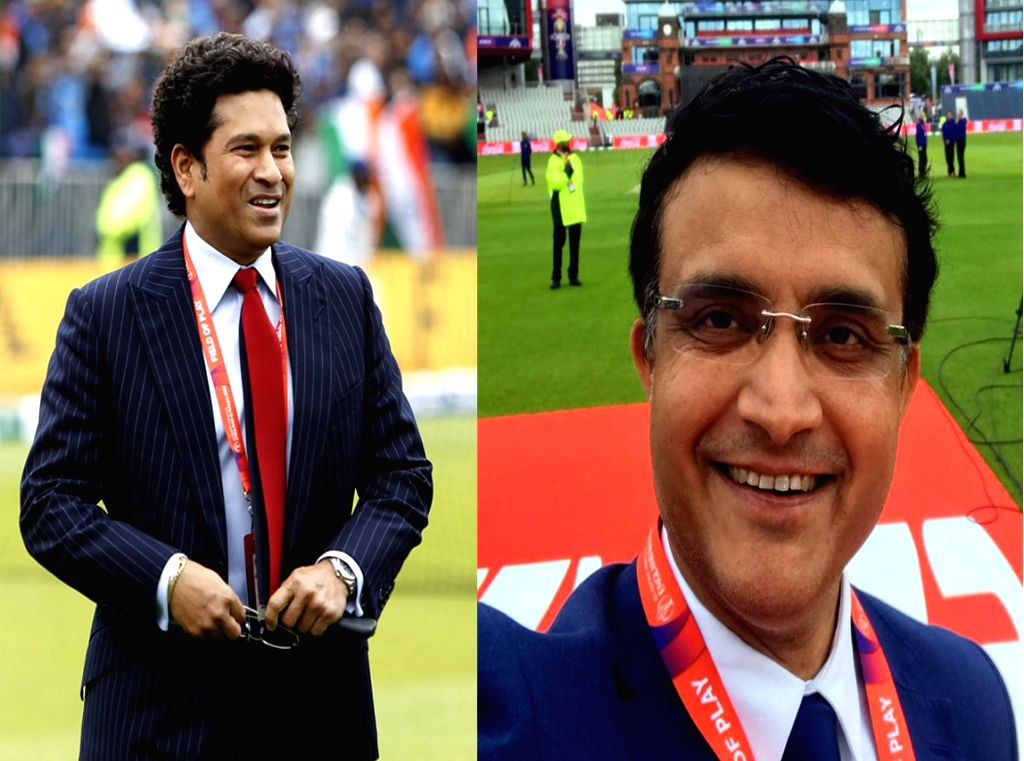 Former cricket players Sachin Tendulkar and Sourav Ganguly. (File Photo: IANS) - Sachin Tendulkar and Sourav Ganguly