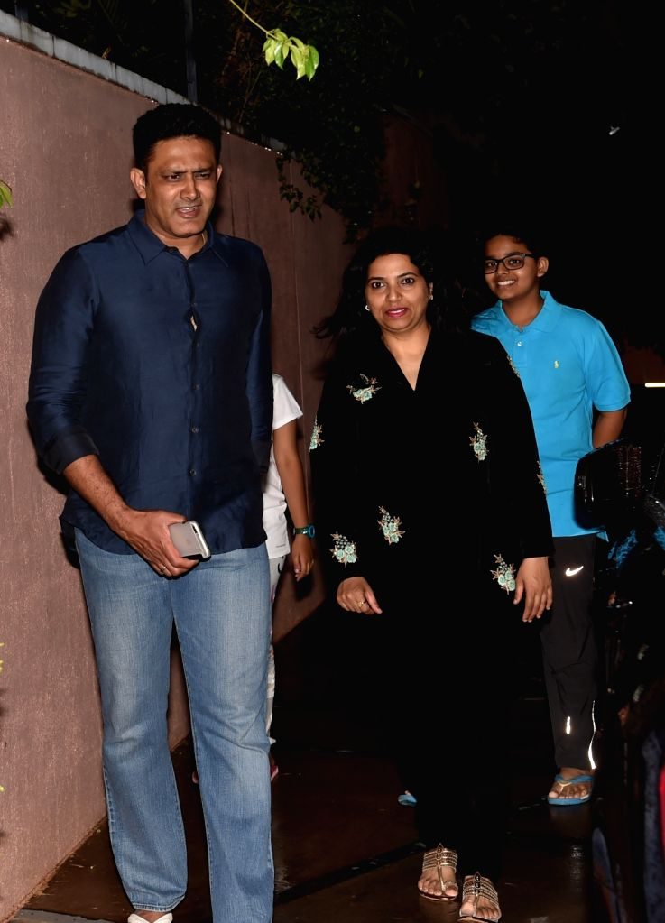 Former cricketer Anil Kumble who has been appointed as the new head coach of Indian cricket team at his residence in Bengaluru, on June 23, 2016.