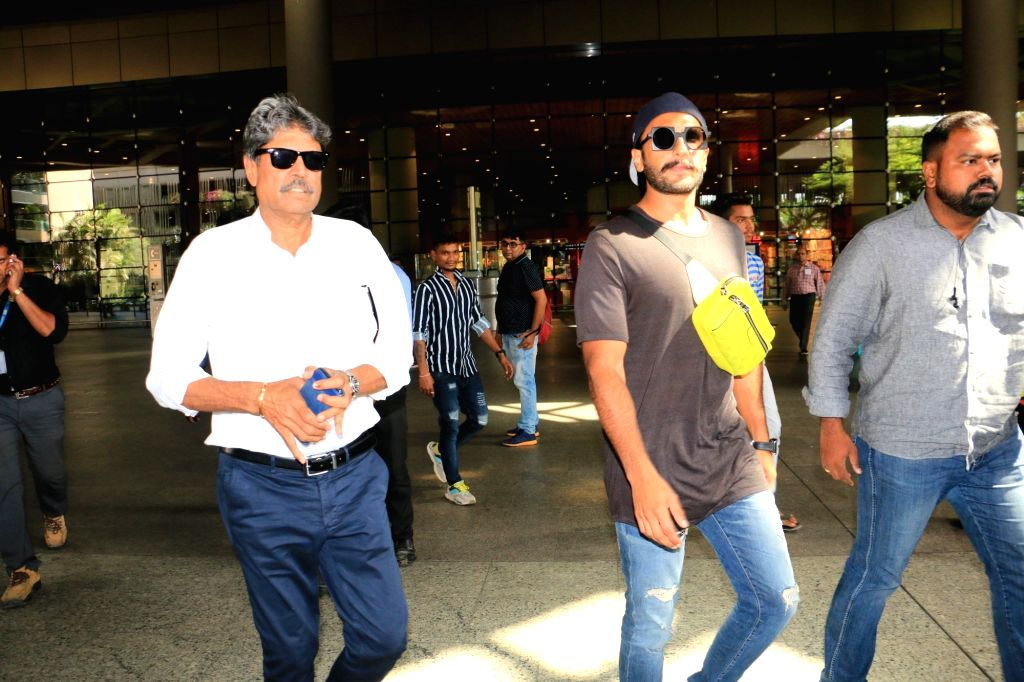 Former cricketer Kapil Dev and actor Ranveer Singh. (Photo: IANS) - Ranveer Singh and Kapil Dev