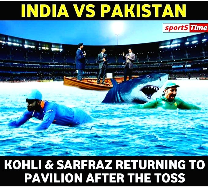 Former cricketer Shoaib Akhtar's post on Twitter ahead of India-Pakistan match. (Photo: Twitter/@shoaib100mph)